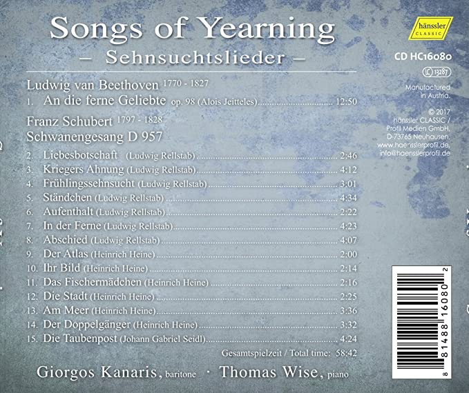 Songs about yearning