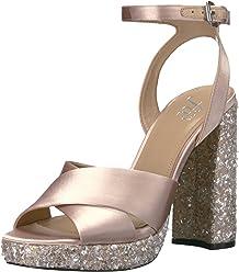 d00e5d800b The Fix Women's Gabriela High-Heel Cross-Strap Platform Dress Sandal