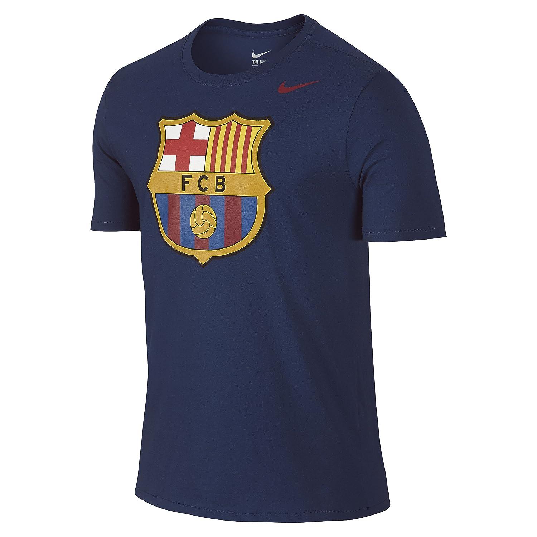 2014–2015 Barcelona Nike Core Crest Tee (Navy)