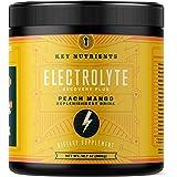 Electrolyte Powder, Peach Mango Hydration Supplement: 90 Servings, Carb, Calorie & Sugar Free, Delicious Keto Replenishment D
