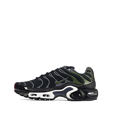 huge discount 9f3d4 fa176 ... discount code for nike mens air max plus sneakers new black olive green  852630 007 a5e60