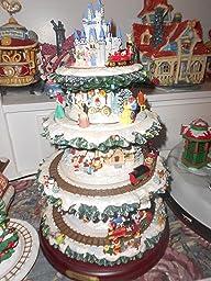 Amazon.com: Disney Tabletop Christmas Tree: The Wonderful World Of ...