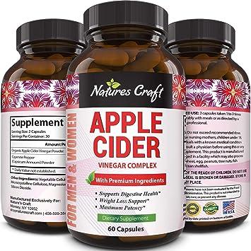 para que sirven las capsulas de vinagre de sidra de manzana