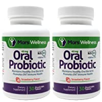 Oral Probiotic Supplement with BLIS K12 4 Billion CFU - Doctor Formulated 60 Day...