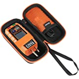 Flaxune Carrying Storage Case replacement for Klein Tools GFCI Receptacle Tester 120V Electrical Outlets RT250