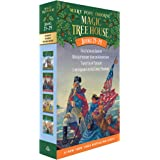 Magic Tree House Books 21-24 Boxed Set: American History Quartet (Magic Tree House (R))
