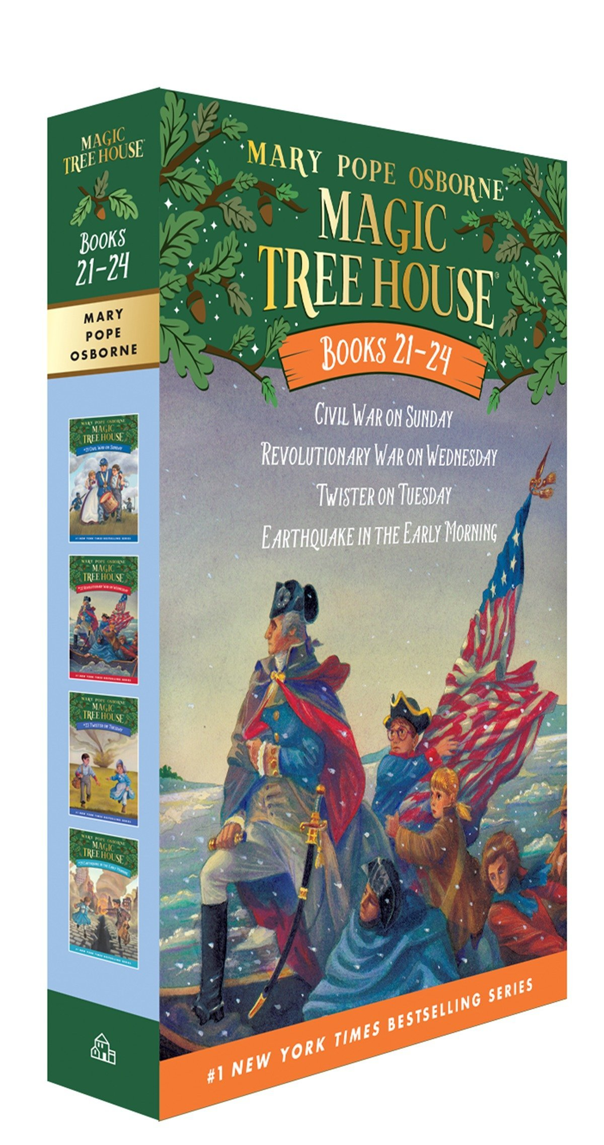 Amazon Magic Tree House Volumes 21 24 Boxed Set American