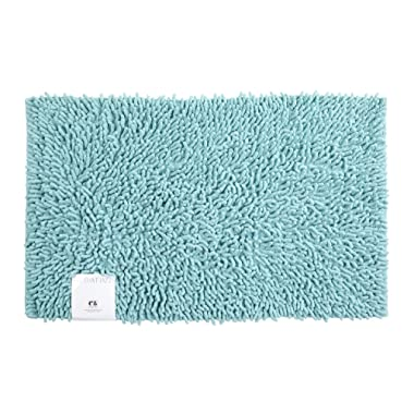 Creative Bath Products All That Jazz Bath Rug, Aqua