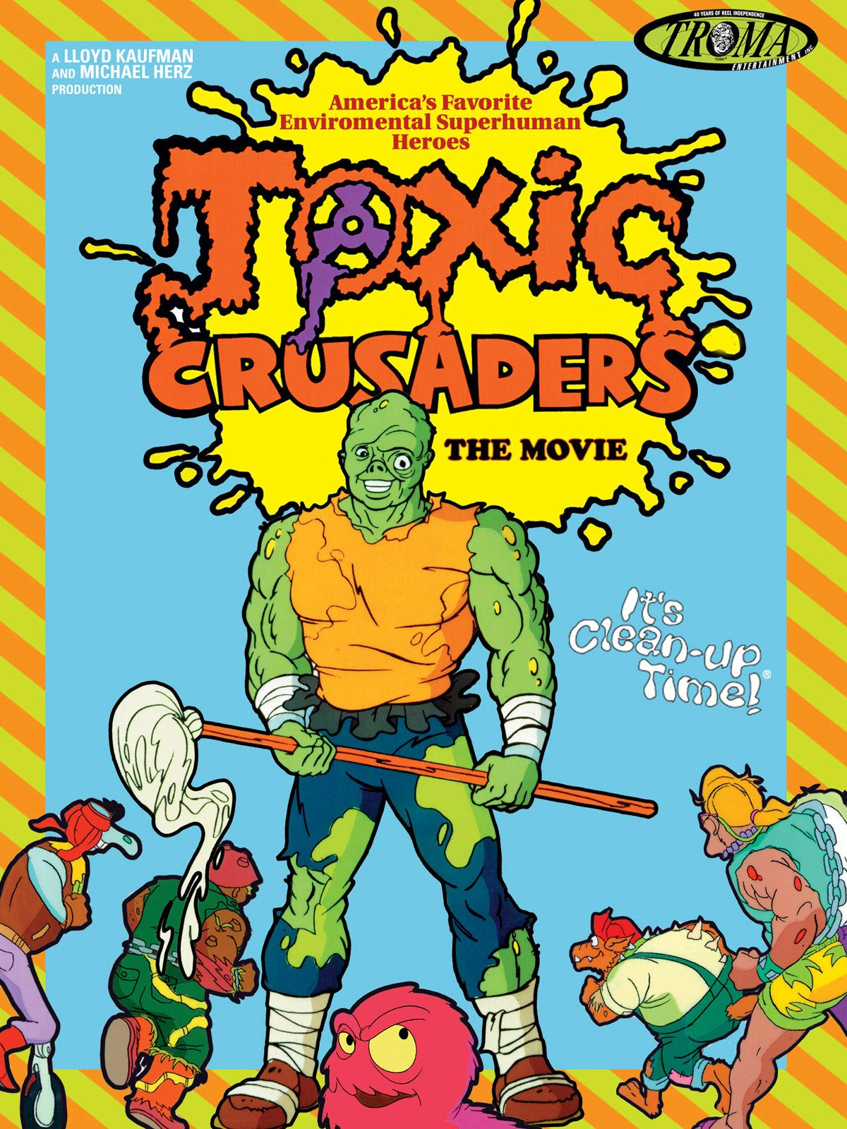 Toxic Crusaders: The Movie on Amazon Prime Video UK