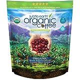 2LB Subtle Earth Organic Decaf - Swiss Water Process Decaf - Medium Dark Roast - Whole Bean Coffee - Low Acidity - Organic Ce