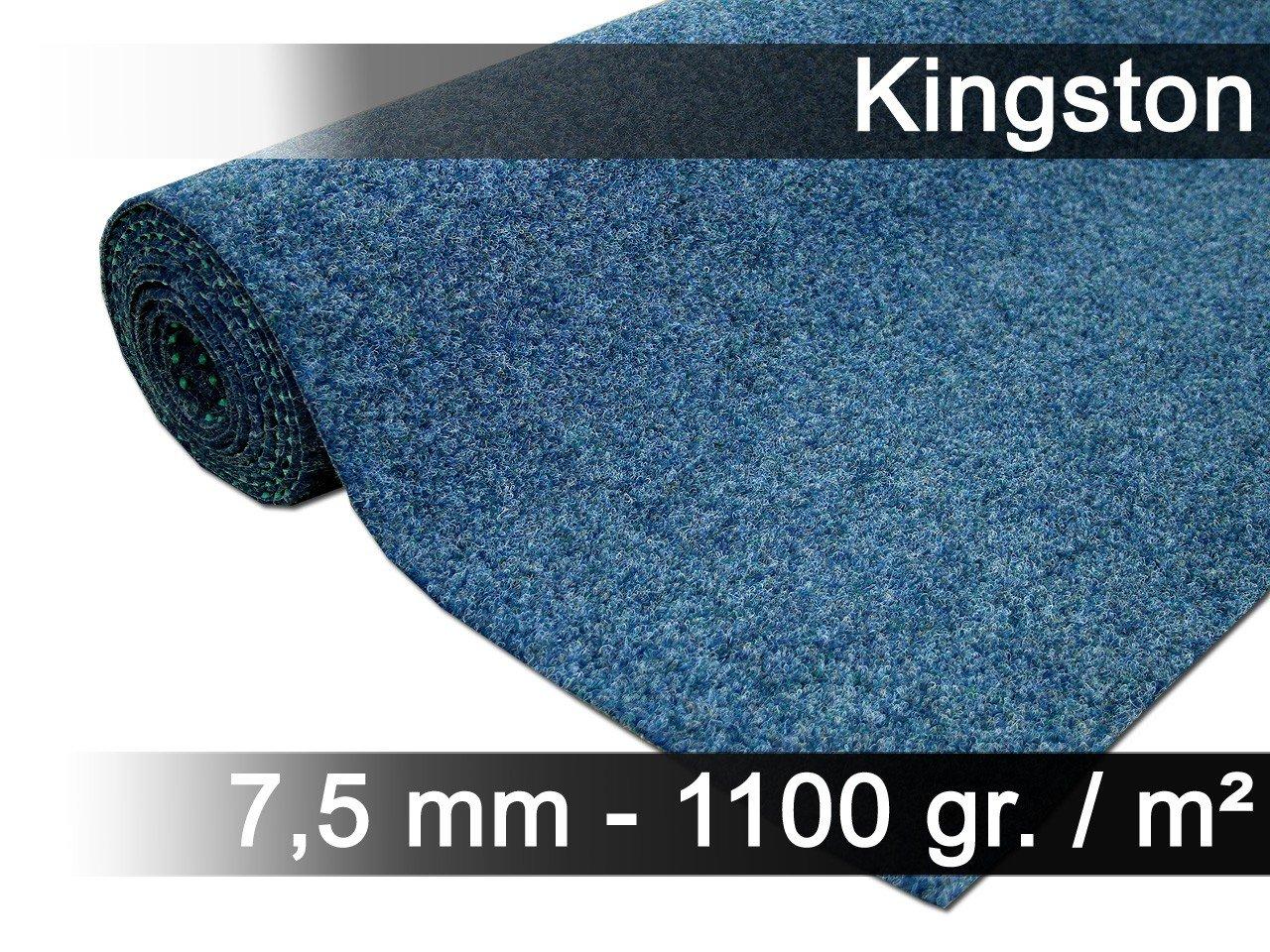 Exteriortrend Komfort Kunstrasen Rasenteppich mit Noppen Noppen Noppen Kingston Blau Mix in 19 Größen B06X9ZQ845 Teppiche 920bef