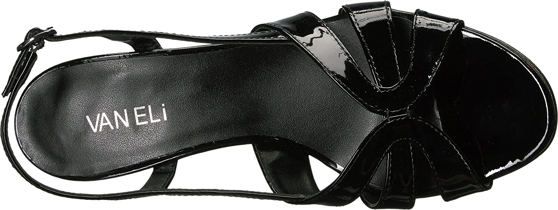 VANELi Women's Maeve Dress Sandal B01MZ46FGG Buckle 10 B(M) US|Black Patent/Gunmetal Buckle B01MZ46FGG ec260b