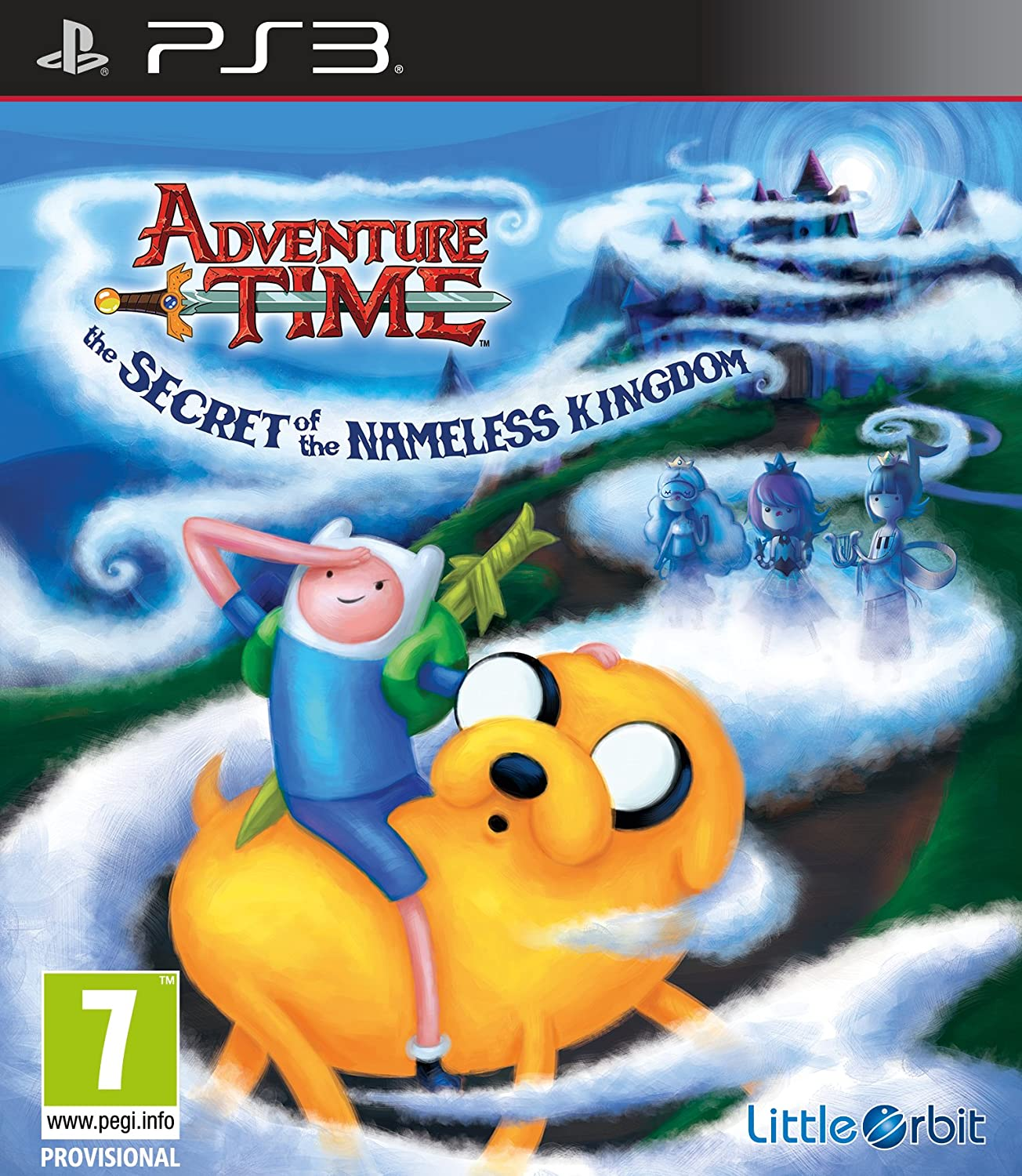Ps3 adventure time : the secret of the nameless kingdom (eu)