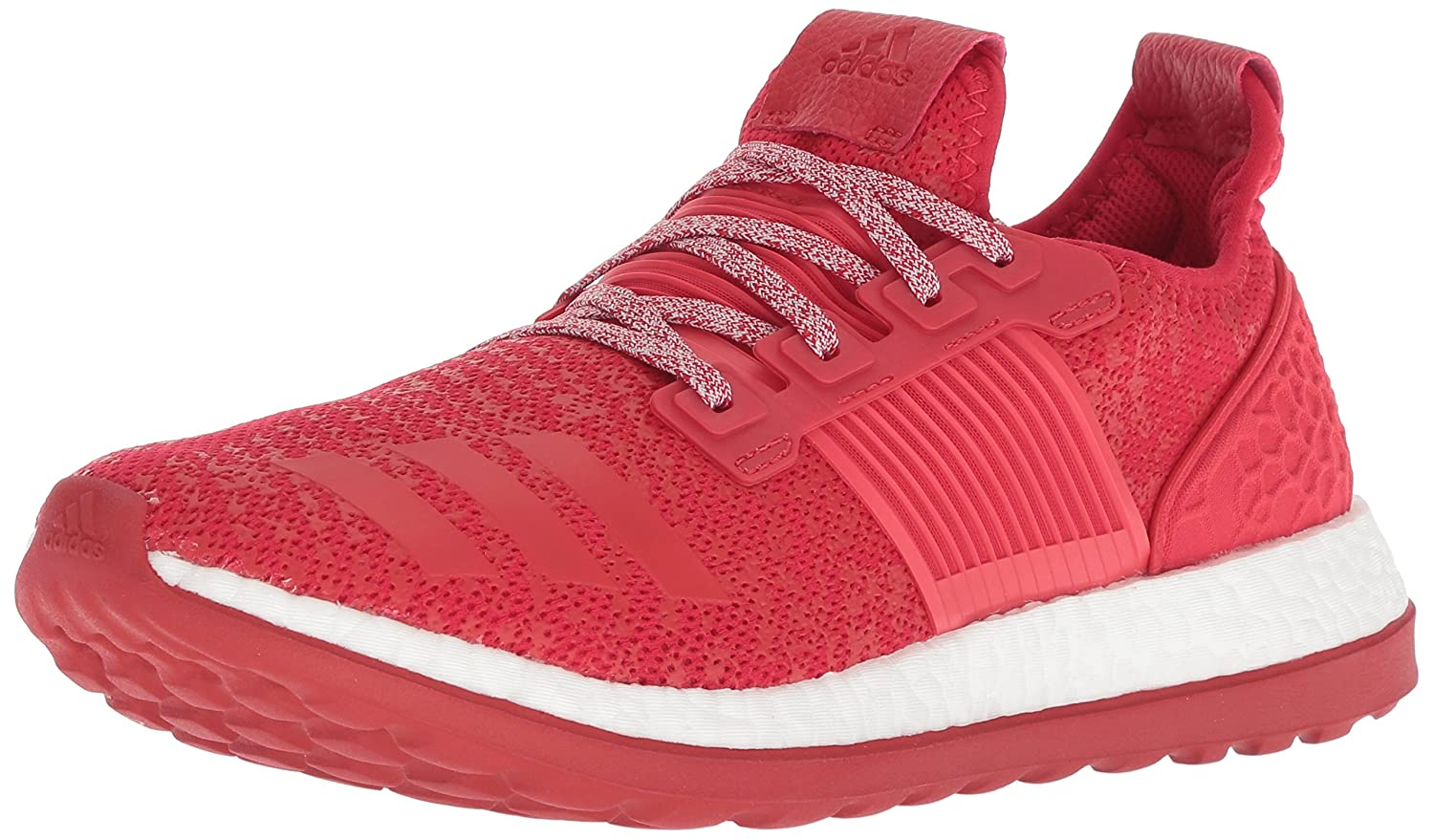 adidas Performance Men's Pureboost ZG Running Shoe B01E0YFU5G 16 D(M) US|Scarlet/Light Scarlet/White