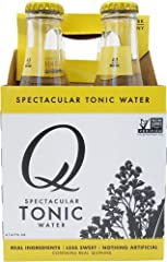 Q Drinks, Tonic Water, 6.7 Fl Oz (pack of 4)