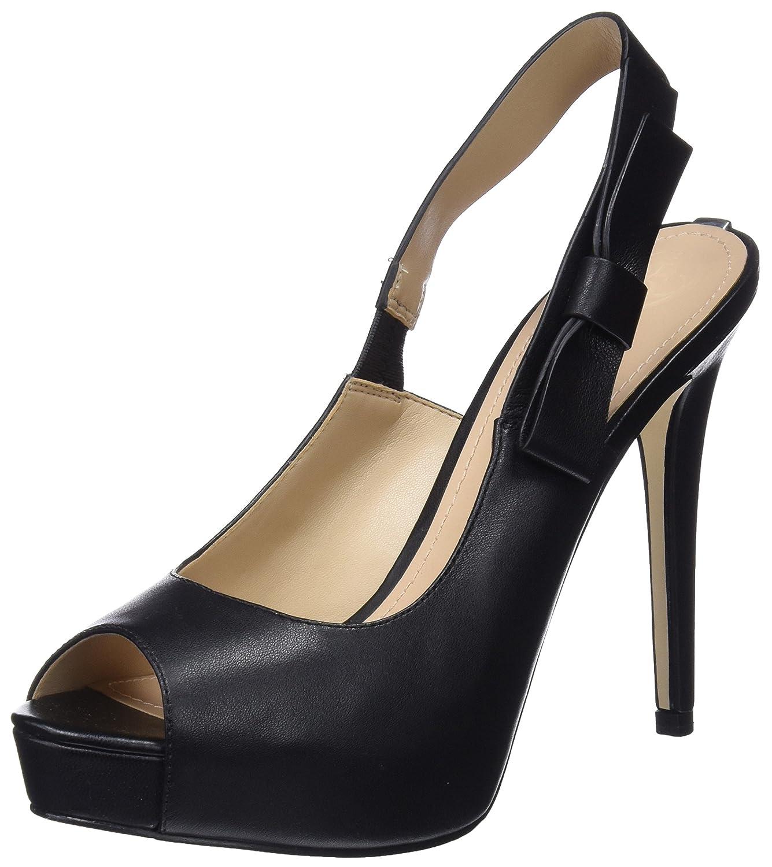 Guess Footwear Dress Sling Back, Scarpe col Tacco con Plateau Donna  Nero