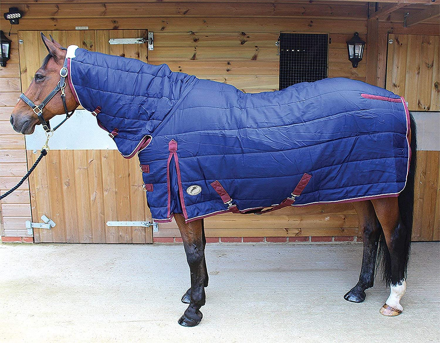 Jumpers Horse Line Unisex's Jhl Stable Rug Mediumweight Combo Navy