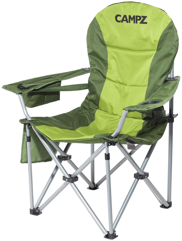 CAMPZ Deluxe Arm Chair grün 2019 Campingstuhl