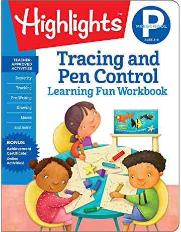 Tracing and Pen Control: Highlights Hidden Pictures (Highlights Learning Fun Workbooks)