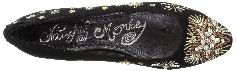 Naughty Monkey Women's Labonge Ballet Flat B0711FJBDD 7.5 B(M) US|Black