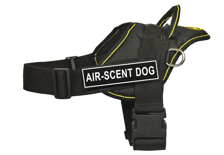 Dean & Tyler Fun Works 81,3 cm a 106,7 cm cm cm Pet Cablaggio, Grande, Air-Scent Dog, Nero con Bordo Giallo da1a7e
