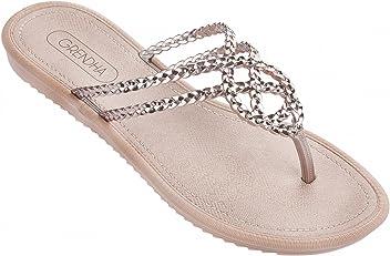 bce92cb92bf4cb Grendha Women s Riviera Flip Flops Braided Straps