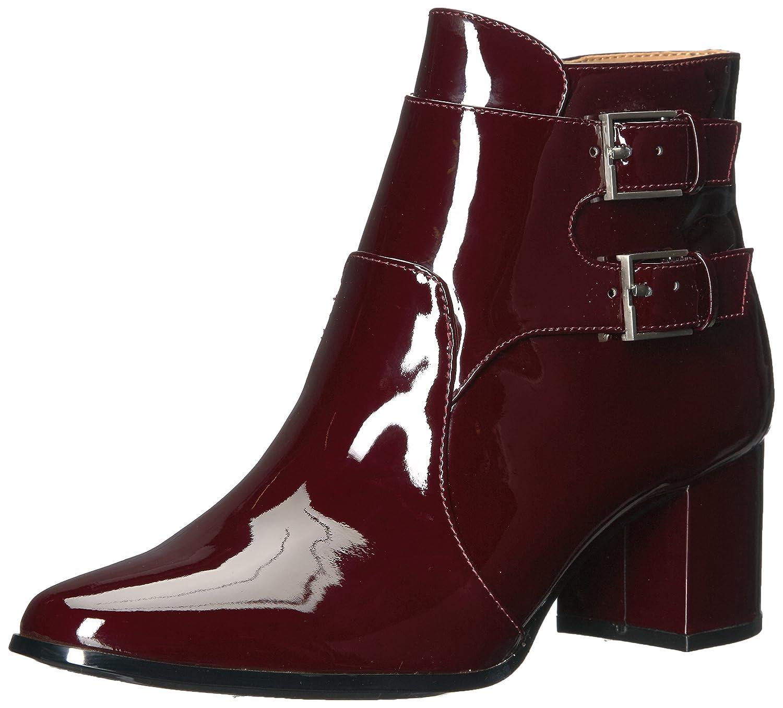 Calvin Klein Women's Florine Patent Ankle Boot B073C8M1FY 8.5 B(M) US|Ox Blood