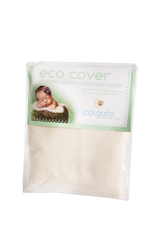 Colgate Bio-Krippe Spannbetttuch/Baumwolle, Naturfarben, für Garten, Rasen, Instandhaltung
