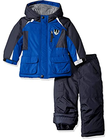 b2e2a216e London Fog Boys' Ski Jacket & Ski Pant 2-Piece Snowsuit