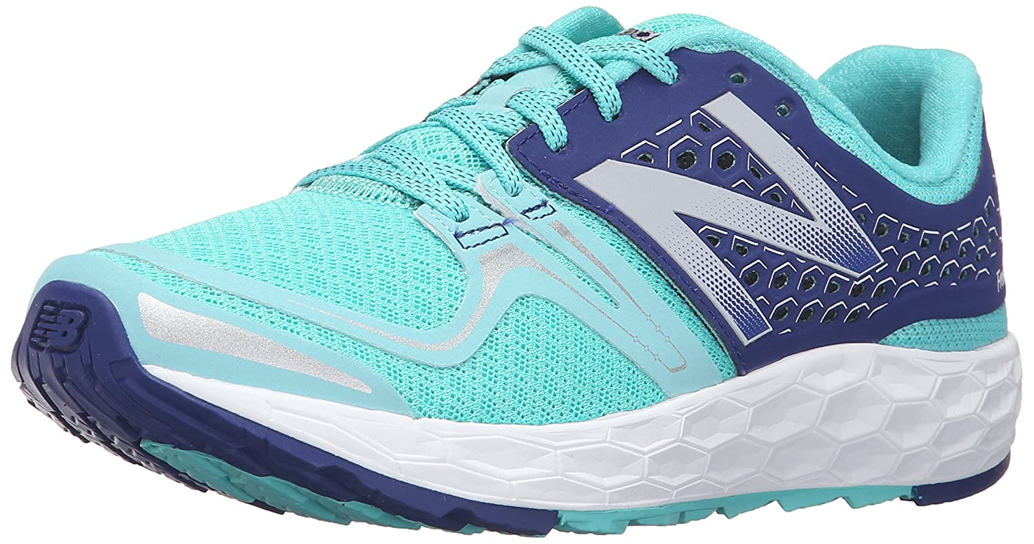 New Balance Women's Fresh Foam Vongo Stability Running Shoe B019DL7M5M 5.5 B(M) US|Blue/White
