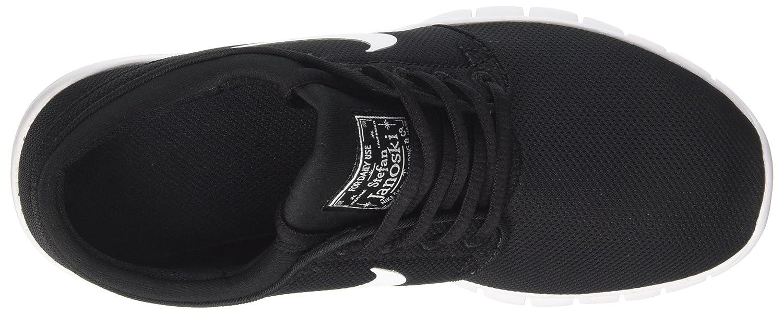 NIKE Kids Stefan Janoski Max (GS) Skate Shoe B00CBCI7LO 5.5 US Kids Black/White
