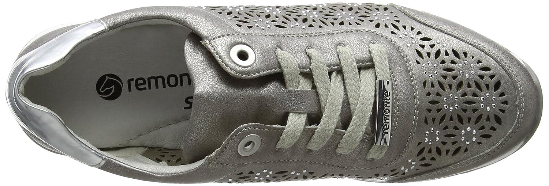 Remonte Damen R7004 Sneakers Grau Grau Sneakers (Altsilber/Argento / 90) 0b3727