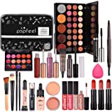 Full Makeup Kit For Women, All-in-One Makeup Set, Makeup Gift Set for Girls Makeup Essential Starter Kit Includes Lip Gloss B