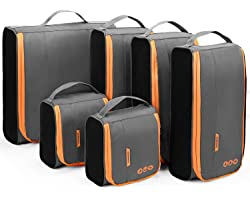 Packing Cubes, BAGSMART Packing Cubes for Suitcases, Lightweight Travel Organizer for Luggage, Wire Frame Suitcase Organizers