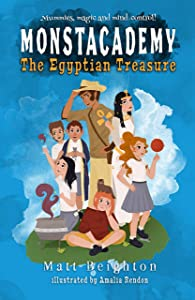 The Egyptian Treasure (Monstacademy Book 3)