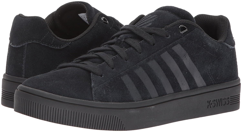 K-Swiss Women's Court Frasco SDE Sneaker B0728CNXWQ 6.5 B(M) US Black/Black