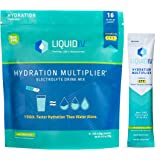 Liquid I.V. Hydration Multiplier - Watermelon - Hydration Powder Packets   Electrolyte Supplement Drink Mix   Low Sugar   Eas