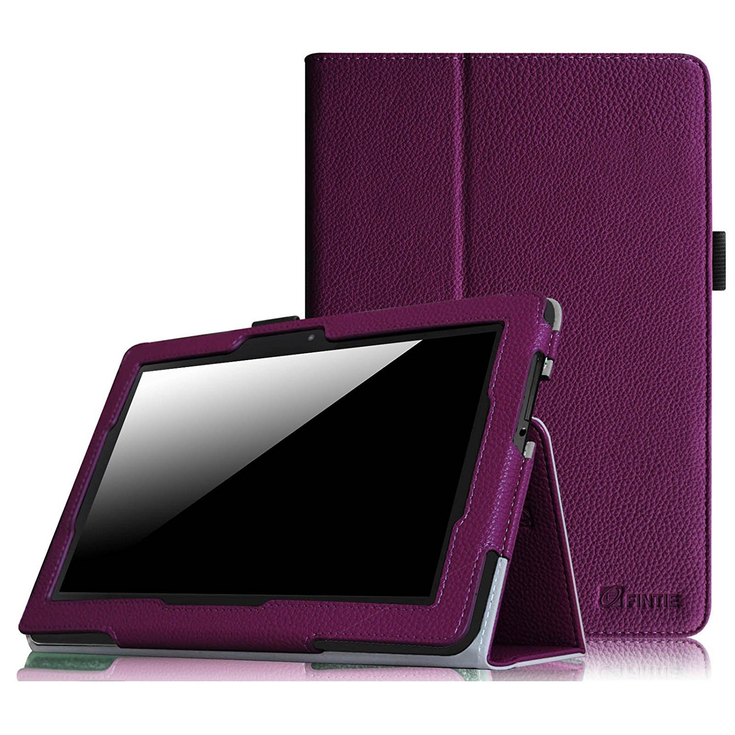 """Fintie Folio Case for Kindle Fire HDX 8.9 - Slim Fit Leather Cover (will fit Amazon Kindle Fire HDX 8.9"""" Tablet 2014 4th Generation and 2013 3rd Generation) - Purple"""