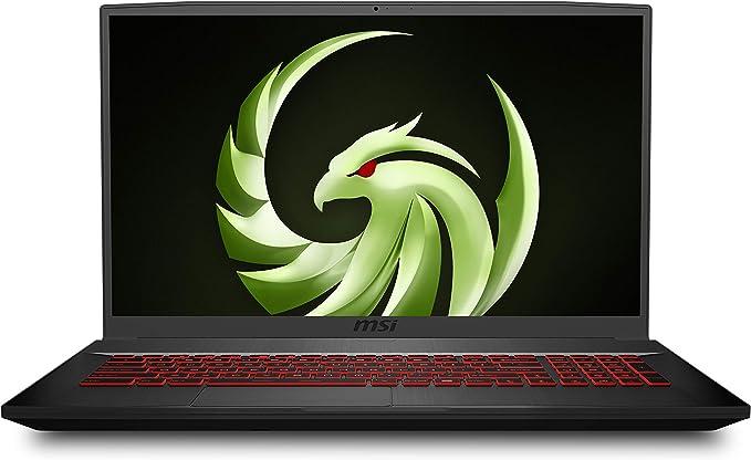 "Amazon.com: MSI Bravo 17 A4DDR-082 17.3"" 144Hz Gaming Laptop AMD Ryzen R7-4800H RX5500M 16GB 512GB NVMe SSD +1TB Win10: Computers & Accessories"