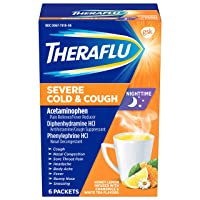 Theraflu Severe Cold and Cough Medicine for Adults and Children 12+, Multisymptom...