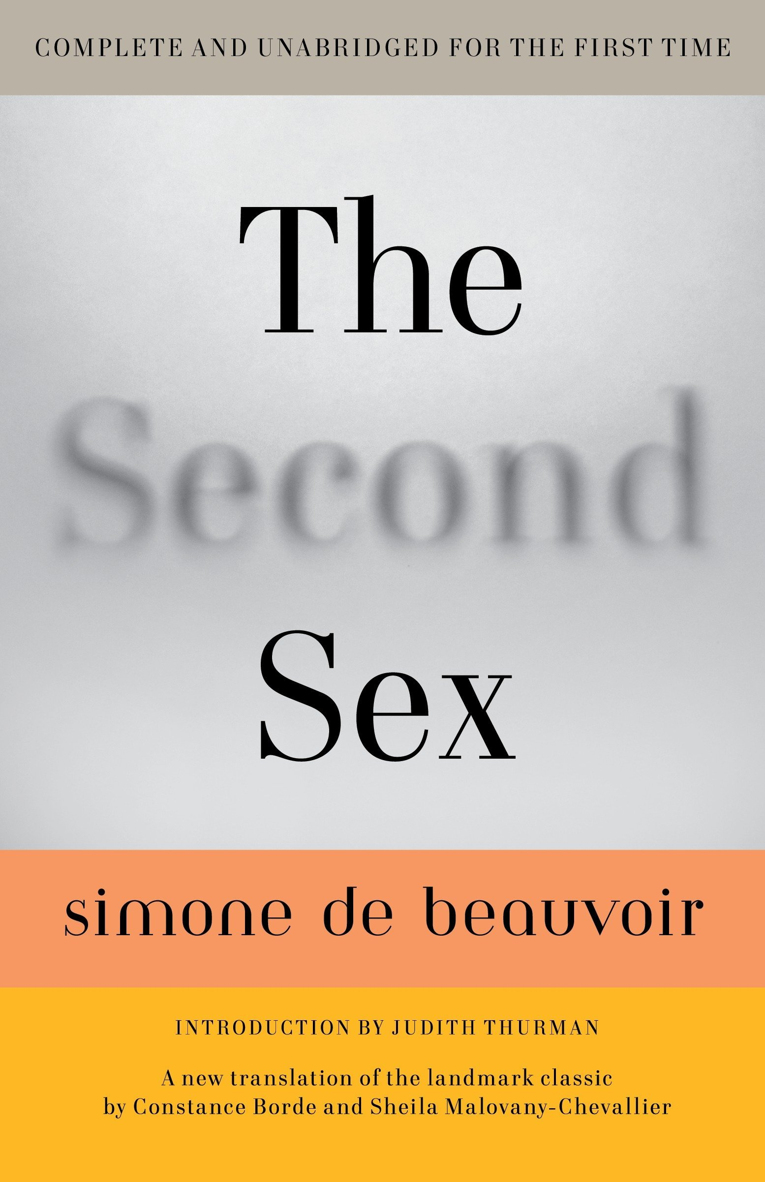 The secondary sex simone de beauvoir