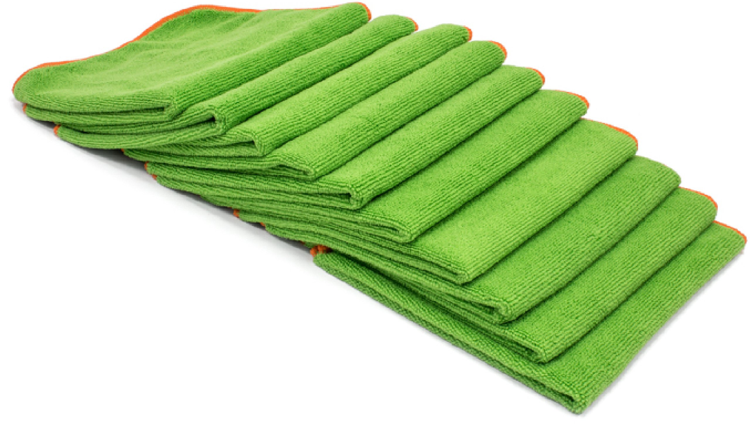 Silver Killer Antibacterial Microfiber Cloth 16 x 16 Towels Infused With EPA Registered SilverClear/™ Kills Viruses Staph and MERSA Bacteria Green, 12