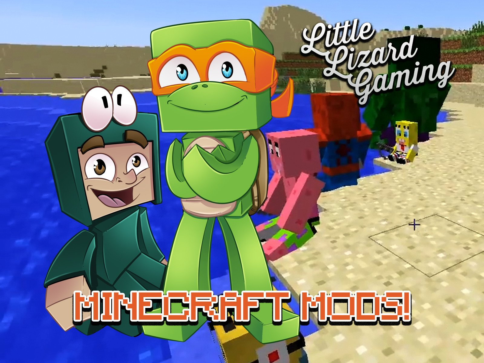 Amazon co uk: Watch Clip: Little Lizard Gaming - Minecraft