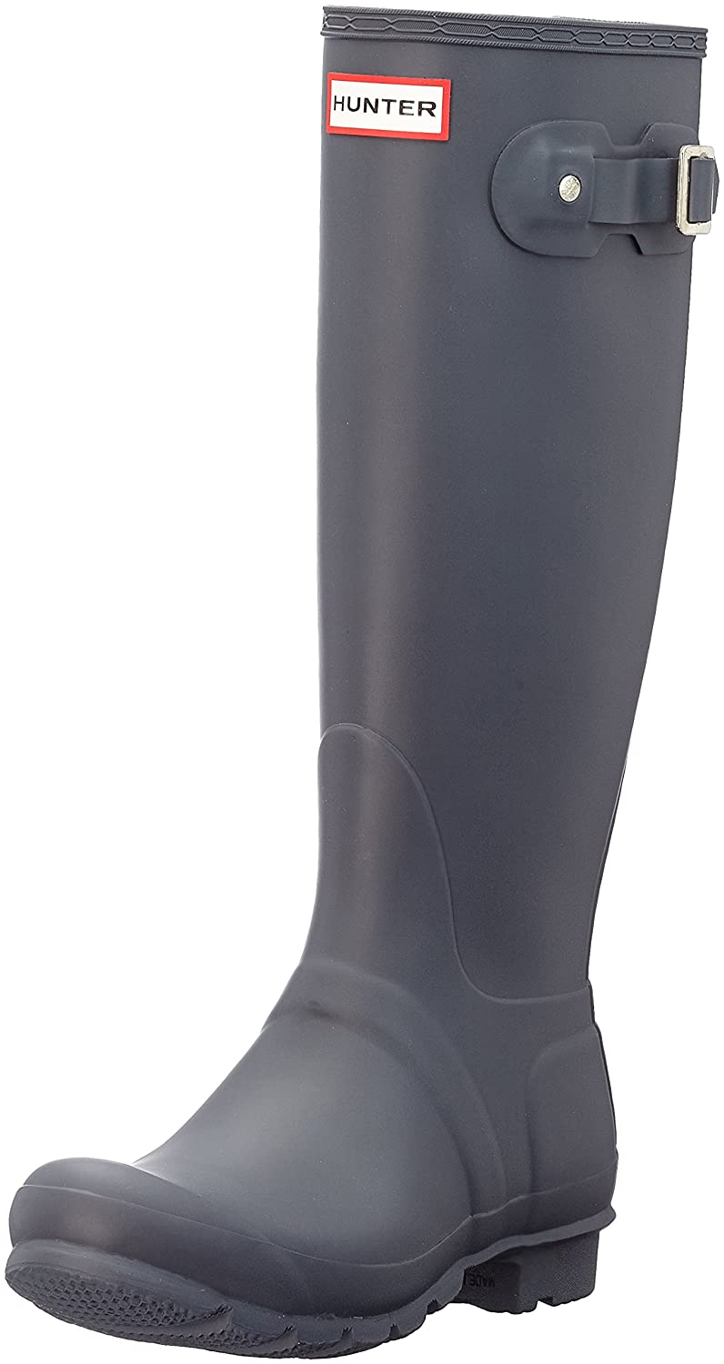 Hunter Women's Original Tall Rain Boot B01N9TY5NB 5 B(M) US|Dark Slate