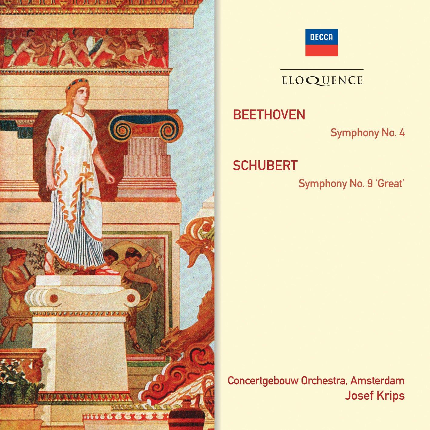 CD : Royal Concertgebouw Orchestra - Eloquence: Beethoven - Symphony No 4 / Schubert