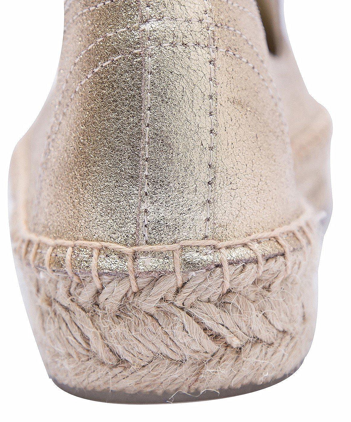 Damen Klassische Loafer Leder Slip-on Espadrilles,Rindsleder Flach Loafer Klassische 3efabd