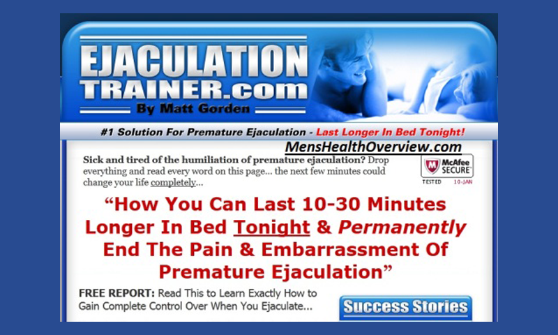 Premature Ejaculation Humiliation Stories