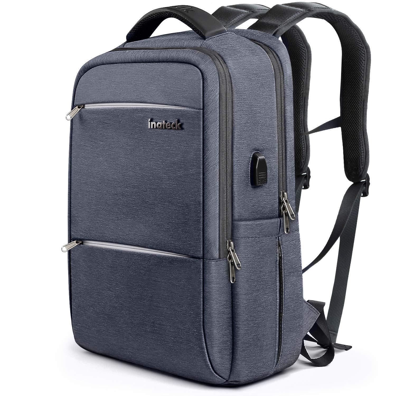 e320aff730 Inateck Zaino per Laptop da 15-15,6 Pollici Anti borseggio Anti graffio con