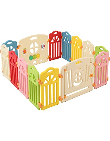 Surreal Castillo Parque de bebé infantil Plástico - 14 Panel