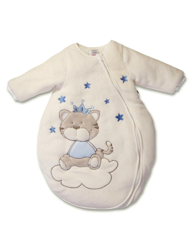 Jacky Jungen Langarm Winter Schlafsack, Katze, Blau, 62 68, 350007